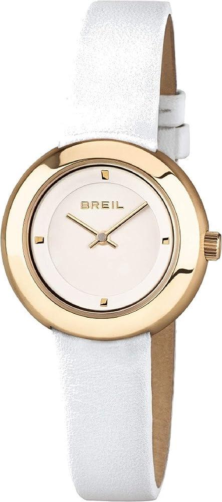 Breil orologio da donna cassa in acciaio lucido con trattamento ip è esaltata dal cinturino in pelle 1 1
