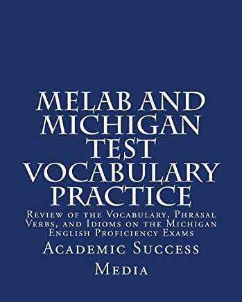 MELAB And Michigan Test Vocabulary Practice Review Of The