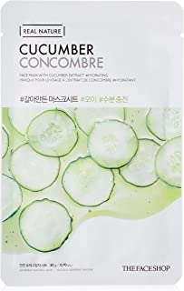 THE FACE SHOP Real Nature Mask Sheet Cucumber, 20 g.