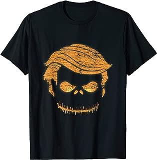 Donald Trump Face Halloween Gifts Pumpkin T-Shirt
