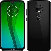 Motorola Moto G7 – Smartphone Android 9 (pantalla 6.2'' FHD+ Max Vision, cámara dual 12MP, 4GB de RAM, 64 GB, Dual SIM), color negro [Exclusivo Amazon, Versión española]