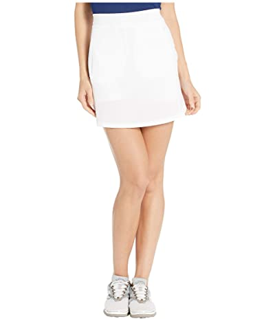 Callaway 17 Fast Track Perforated Skort (Brilliant White) Women