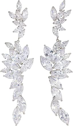 Layered Marquise CZ Statement Earrings