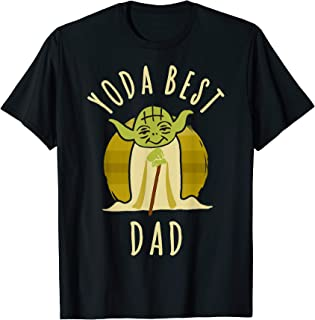 Yoda Best Dad Cartoon Yoda T-Shirt