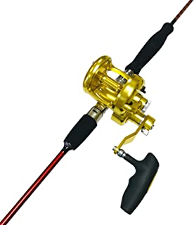 EatMyTackle Snapper Whacker Saltwater Jigging Rod and Reel Combo