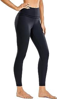 CRZ YOGA Women's Naked Feeling High Waist Tight Yoga Pants Workout Leggings-25 Inches