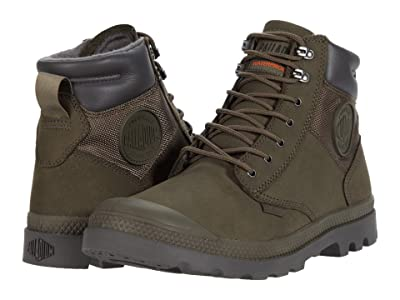 Palladium Pampa Shield WP+ Lux (Major Brown) Lace-up Boots