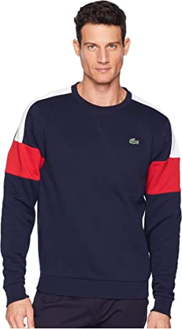 Sport Semi Fancy Sweatshirt w/ Contrast Color Yoke