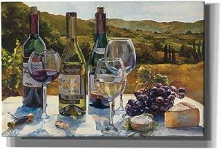 Epic Graffiti A Wine Tasting by Marilyn Hageman Giclee Canvas Wall Art, 40