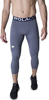 WOLACO Fulton 3/4 Length Compression Pants - Compact Sports Activewear - Made in America