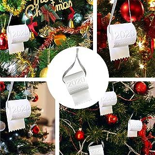 2020 Toilet Paper Christmas Tree Ornament 3D Print Toilet Paper Crisis Xmas Tree Christmas Decoration Quarantine Ornament ...