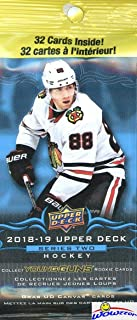 2018/19 Upper Deck Series 2 NHL Hockey HUGE Factory Sealed Jumbo FAT PACK with 32 Cards! Look for Young Gun Rookie Cards of CARTER HART, Andrei Svechnikov, Brady Tkachuk, Jordan Kyra & More! WOWZZER!