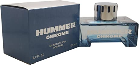 Hummer Chrome Cologne, 4.2 Ounce