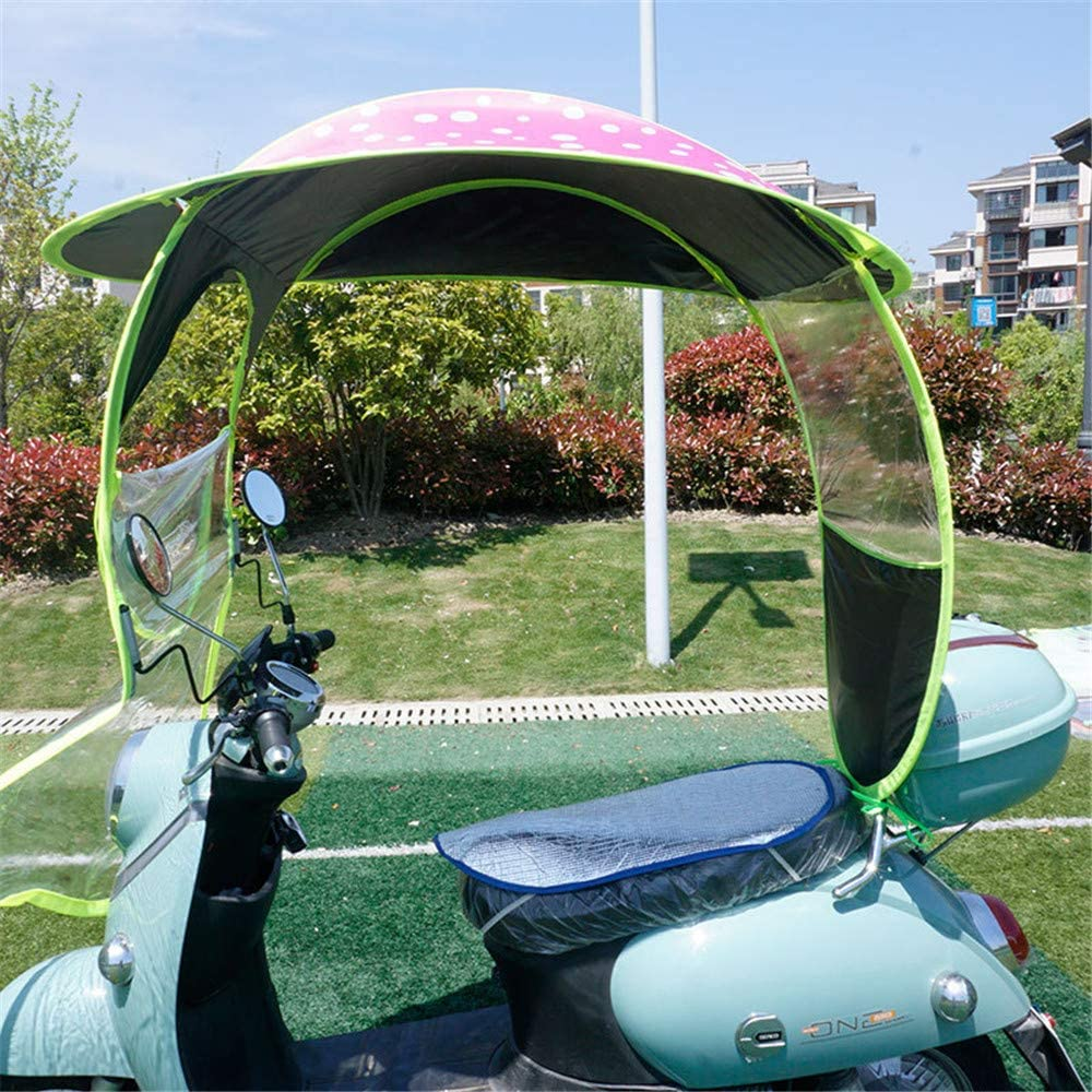 WEZHE Universal service Electric Motorcycle Rain Canopy Ra Limited price Cover Awning