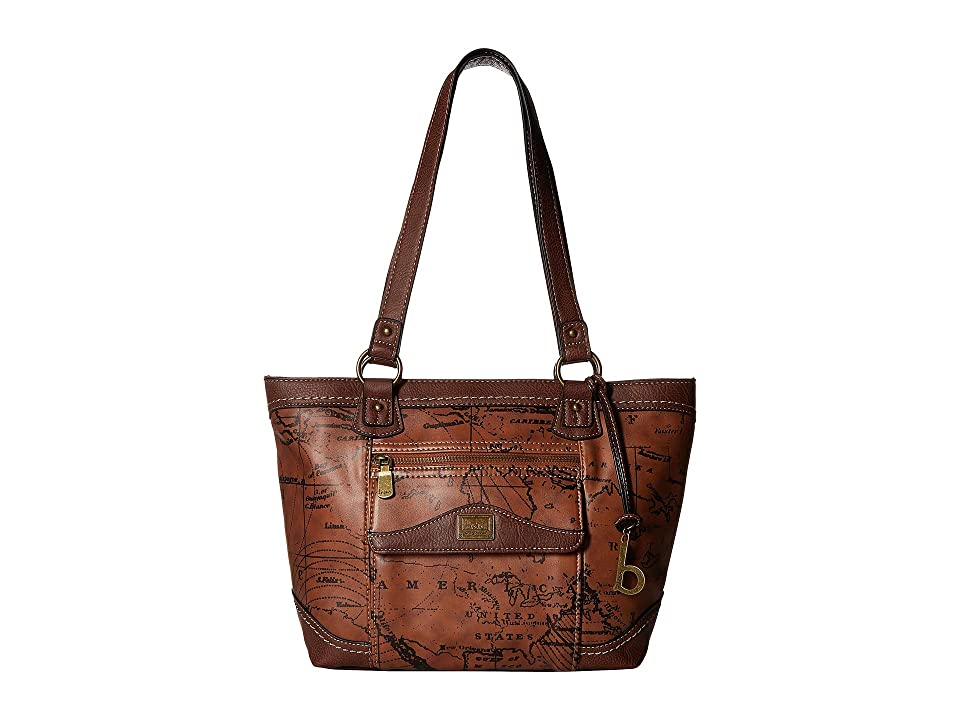 b.o.c. Voyage Tote (Dark Saddle/Chocolate) Tote Handbags, Brown