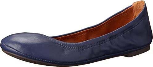 Best navy blue leather ballet flats Reviews