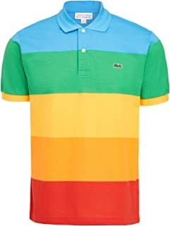 Lacoste Men's Short Sleeve Polaroid Colorblock Polo Shirt