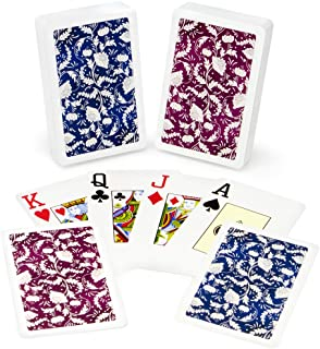 Copag Class Natural 100% Plastic Playing Cards, Bridge Size, Jumbo Index