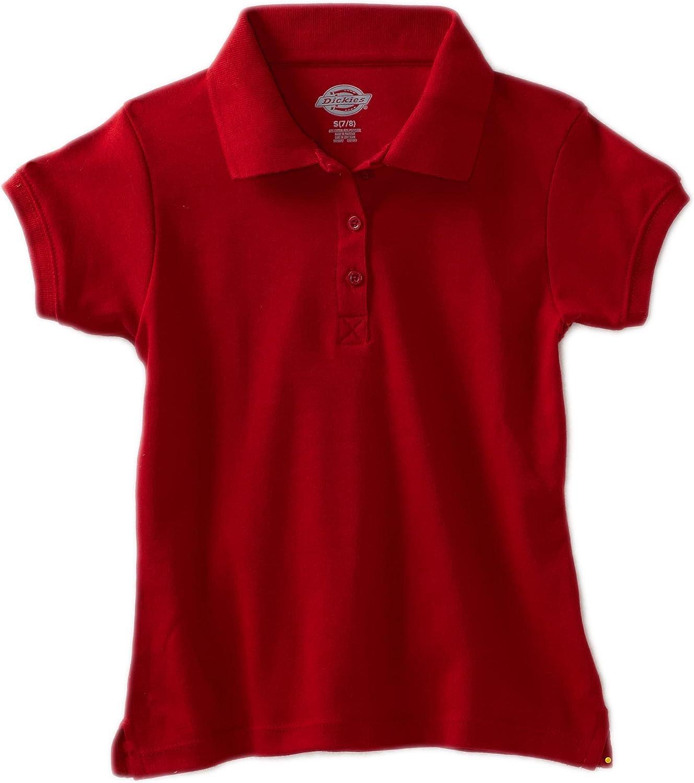 Dickies Girls Short Sleeve Interlock Polo