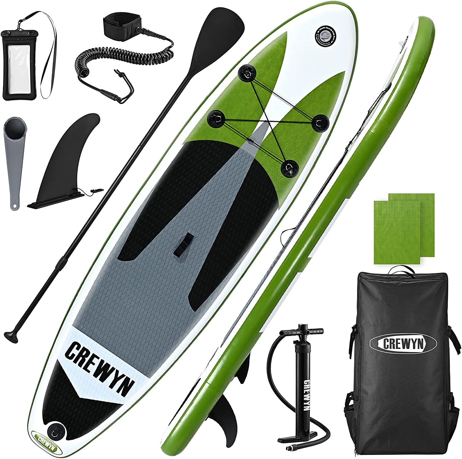 CREWYN 10ft Inflatable Stand Up Paddle Board $189.99 Coupon