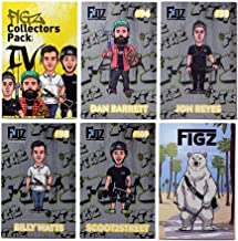 Figz Collection Stickers | Collectors Pack 4