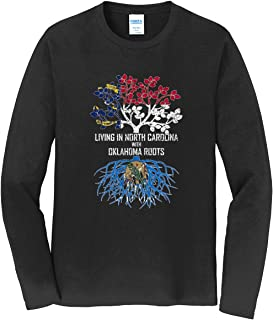 Tenacitee Girls Living in Colorado with South Carolina Roots Hooded Sweatshirt