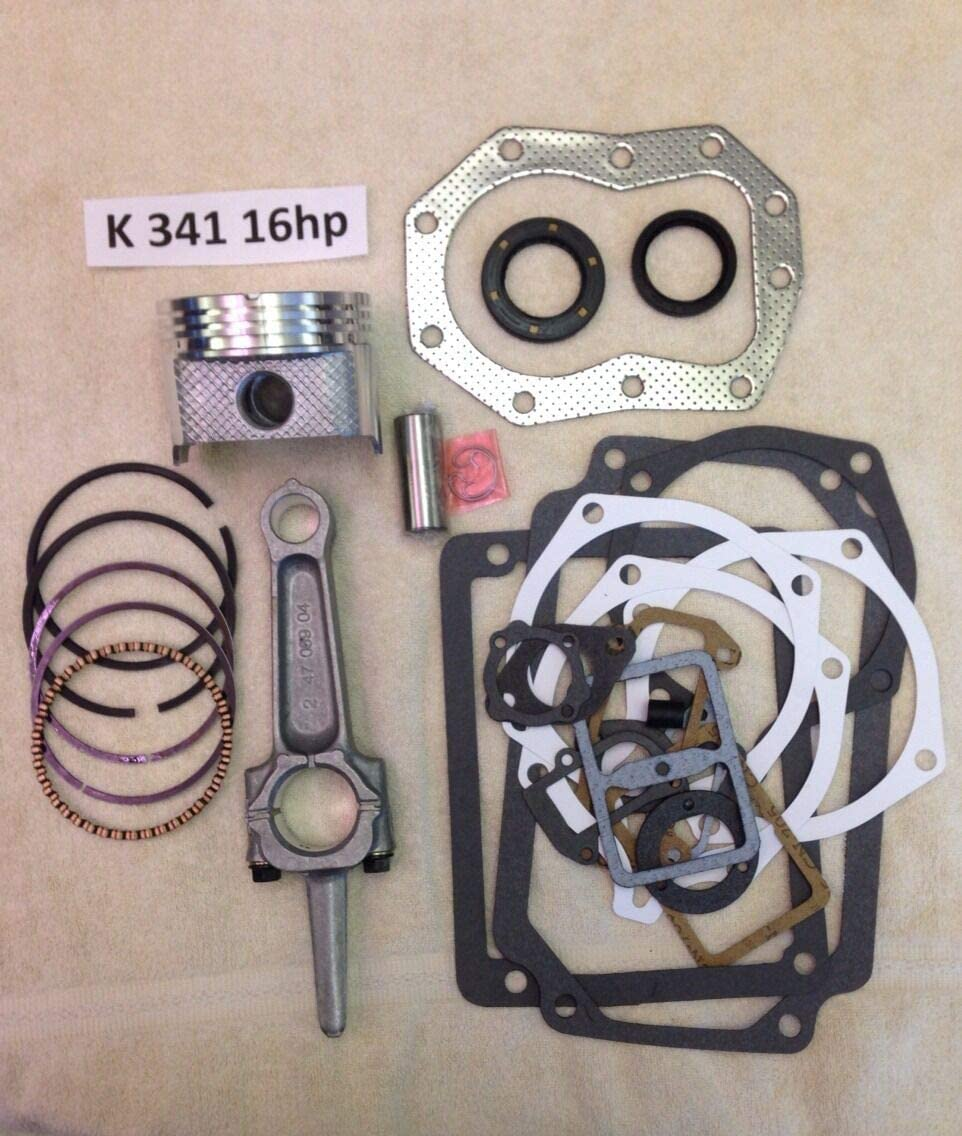 Max 81% OFF Lawn Mower Parts Engine Rebuild KIT 16HP M16 for Max 50% OFF and K341 Kohler