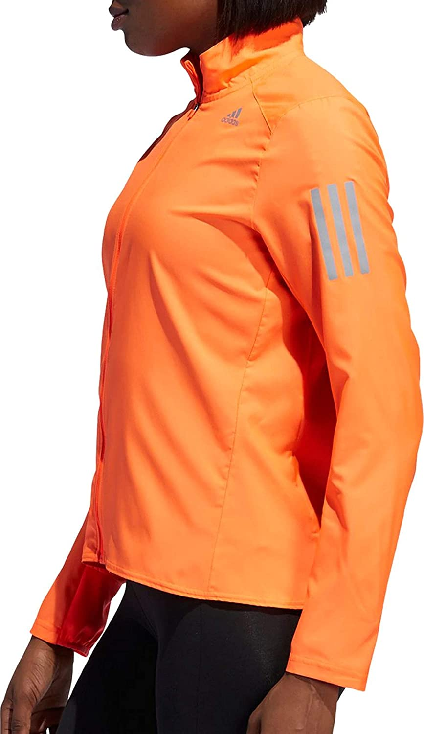 adidas Damen Own The Run Jacket Jacke HOHE RESOLUTION KORAL