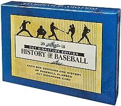 leaf cut signature history of baseball