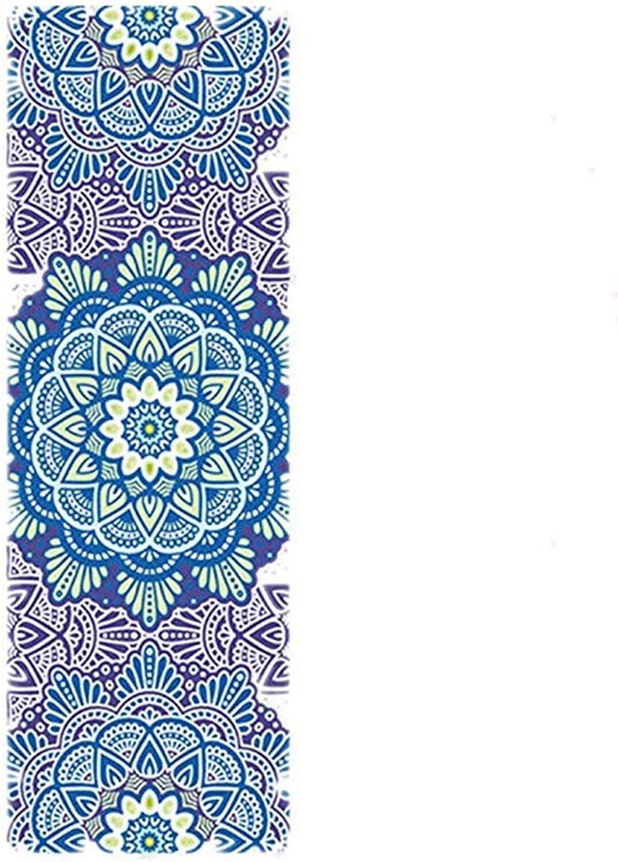 JESSIEKERVIN YY3 Yogamatte Naturkautschuk1mm umweltfreundliche geschmackvolle Turnmatte Yogamatte für Turnhallenfamilie.