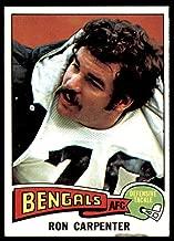 1975 Topps #197 Ron Carpenter Near Mint or Better Bengals