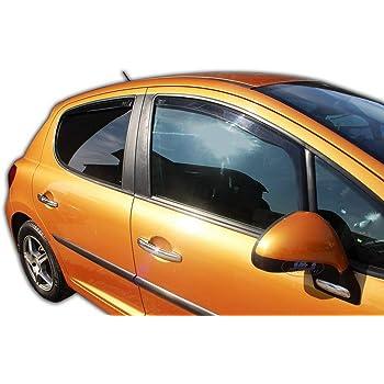 Deflecteurs dair d/éflecteurs de Vent Compatible avec Ecosport II 2013-pr/és 2 pi/èces J/&J AUTOMOTIVE