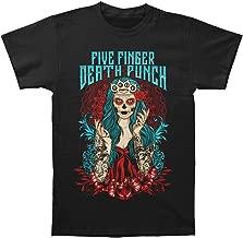 LLWFLPB Five Finger Death Punch Men's Lady Muerta T-Shirt Black