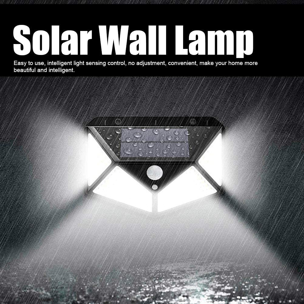VINGVO Max 84% OFF PC+ABS Street Lamp Solar Courtyard Wall Very popular Lamp, P for