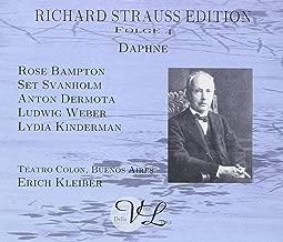 Strauss: Daphne Richard Strauss Edition, Folge 1