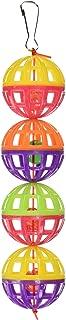 Pen Plax BA511 4 Count Lattice Balls with Bells