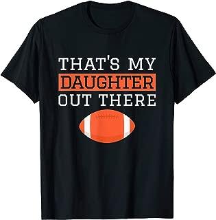 Best my daughter plays football shirt Reviews