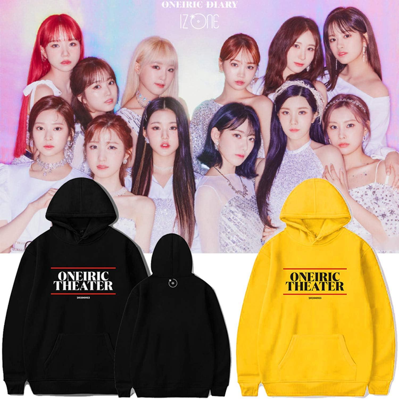 Xkpopfans Kpop IZONE Hoodie ONEIRIC Theater Concert Sweatshirt YuJin Yena Wonyoung Pullover