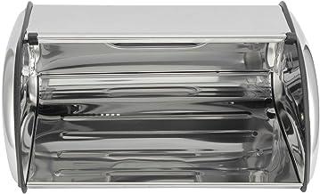 FZYE Stockage du Pain, boîte de Rangement du Pain Grande capacité en Acier Inoxydable boîte à Pain conteneur Grande boîte ...