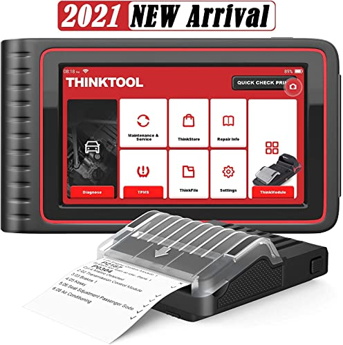 Thinktool Obd2 Scanner Bidirectional Scan Tool with All System Diagnostic Scanner and 28 Service Reset, Car Scanner with ECU Coding/TPMS Programming/Active Test