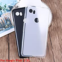 Half-wrapped Cases - Matte Soft TPU Case For For for Google Pixel 1 2 3 4 XL Pixel2 Pixel3 XL Lite for HTC Silicone Ultra Thin Slim Back Cover (For Pixel 3 XL Lite)