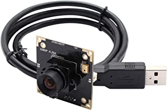 3MP WDR USB Webcam Mini Camera Module H.264 AR0330 USB with Camera 100 Degree Non-Distortion Lens Webcam with Microphone H...