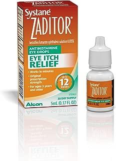 Zaditor Antihistamine Eye Drops, 5-mL
