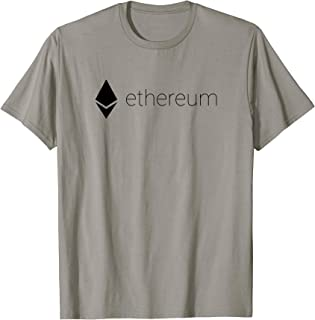 Official Ethereum Logo CryptoCurrency Bitcoin Token T-Shirt
