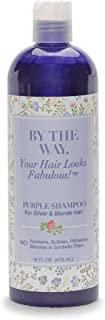 Purple Shampoo by The BTW Co. for Silver, Gray and Blonde Hair: Brighten and Remove Yellowing or Brassy Tones with No Sulf...