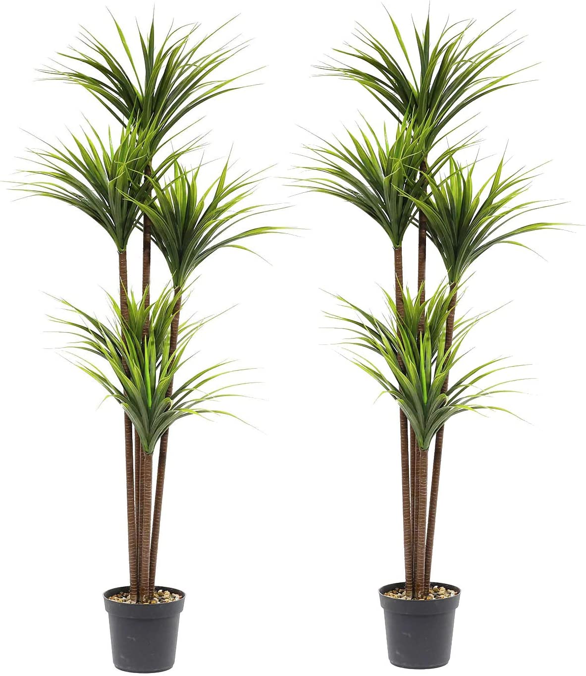 63 inch Artificial Boxwood Topiary New product! New type Tree Cane Palm Golden Ar Silk Max 61% OFF