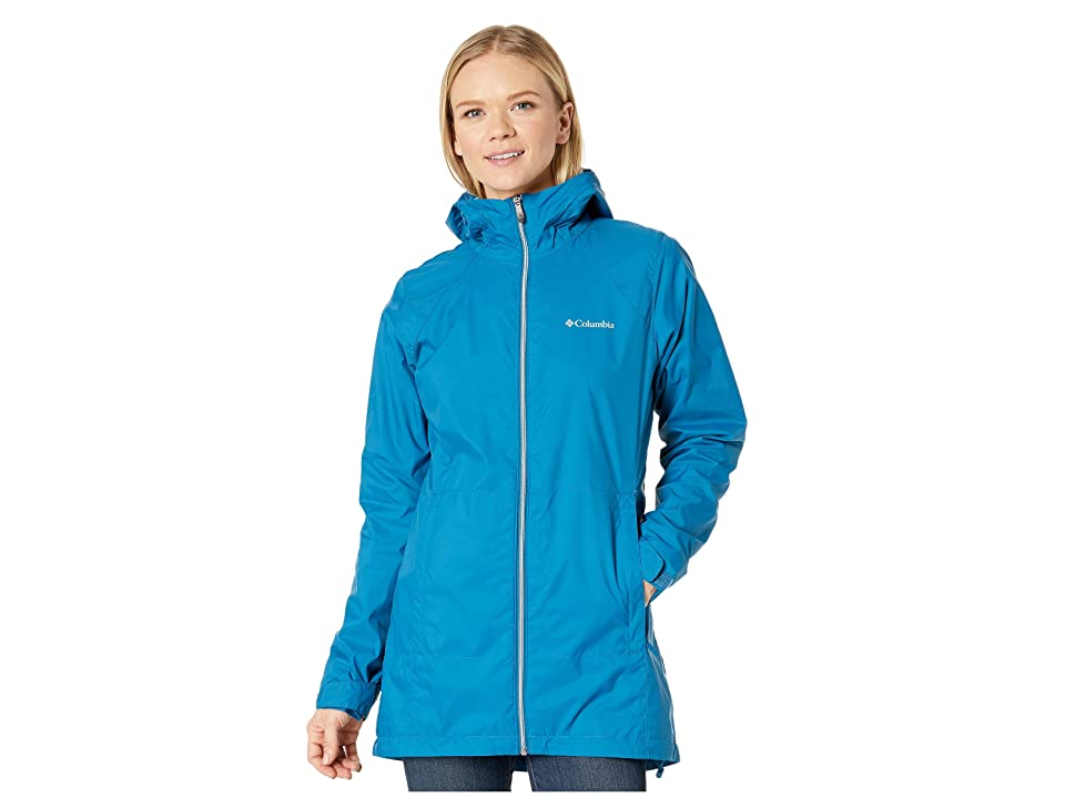 Columbia Switchback Lined Long Jacket (Lagoon) Women