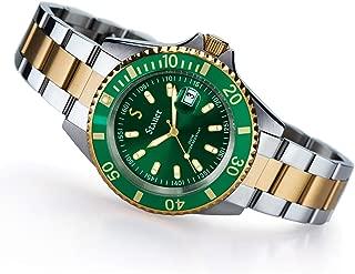 Stauer Men's Stainless Steel Evergreen Diver Watch