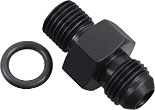 ICT Billet Transmission Adapter Fitting -6AN Flare Black 6 AN TH400 TH350 4l60E 4l80E 700r4 LS1 LM7 LR4 LQ4 LS6 L59 LQ9 LM4 L33 LS2 LH6 L92 L76 LY2 LY5 LY6 LS3 F06ANPS14