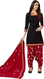 Jevi Prints Women's Cotton Printed Straight Stitched Salwar Suit Set (ND-1931)
